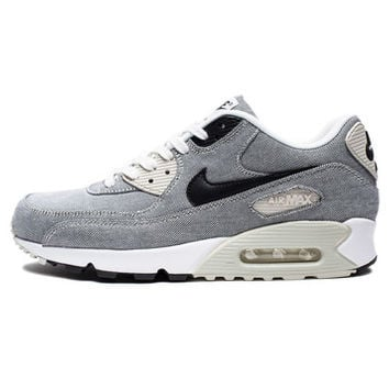 NIKE AIR MAX 90 PRM - SAIL/LIGHT BONE/WHITE/BLACK | Undefeated