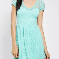 Urban Outfitters - Pins And Needles Lace Sweetheart Dress