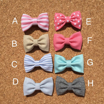 Mix and match set of two bow ties bow tie Seaside Sparrow bow tie bow tie for boy baby toddler bow tie gift easter spring wedding boy tie