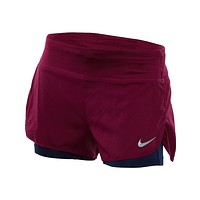 "Nike Flex 2-in-1 3"" Running Shorts Womens Style : 831552"