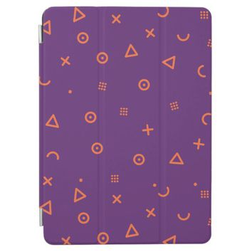 Happy Particles Purple iPad Air Cover
