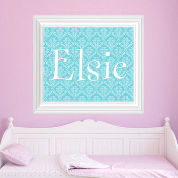 Name Girls Bedroom Decor, Girl Name art, Nursery Decor, Nursery Art - DIGITAL FILE