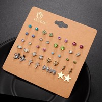Brincos Mixed Stud Earring Pack