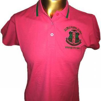 Alpha Kappa Alpha Polo Shirt