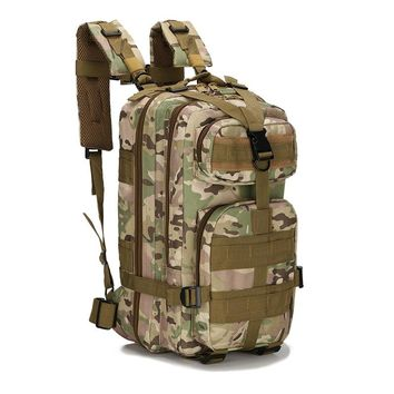 30L Military Tactical  Pack Backpack Army Bag Small Rucksack for Outdoor Hiking Camping Hunting Bags 10 Colors