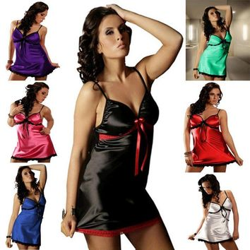 On Sale Cute Hot Deal Plus Size Sleepwear Sexy Exotic Lingerie [6595848643]