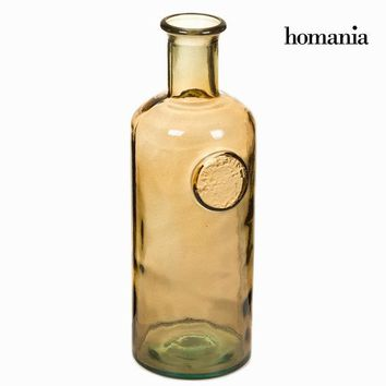 Vase made from recycled glass Brown - Crystal Colours Kitchen Collection by Homania