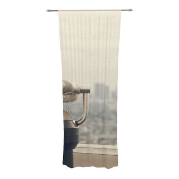 "Catherine McDonald ""The View LA"" Decorative Sheer Curtain"