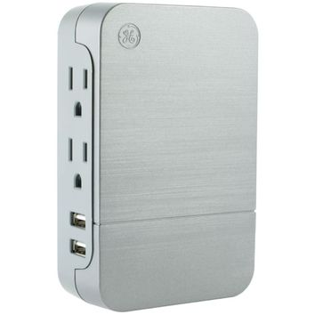 General Electric 2-outlet Surge-protector Wall Tap With 2 Usb Ports