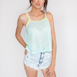 Over the Top Daisy Top - Mint