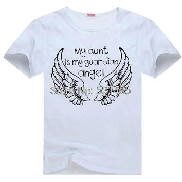 My Aunt Is My Guardian Angel T-shirt - Auntie In Heaven