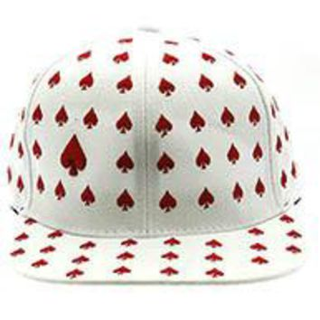 Spades King of Spades Poker Players Gamblers SNAPBACK  HAT / CAP One Size