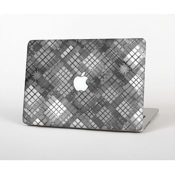 The Grayscale Layer Checkered Pattern Skin for the Apple MacBook Air 13""