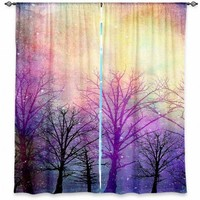 Designer Artistic Decorative Unique Window Curtains | Sylvia Cook's Trees