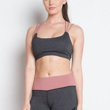 Activewear Strappy Padded Workout sports Bra