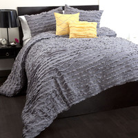 Lush Decor Modern Chic 5 Piece Comforter Set