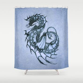 Shop Dragon Shower Curtain On Wanelo