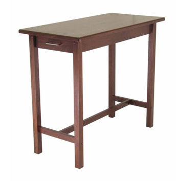 Kitchen Island Table with 2 Drawers