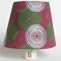 Red and Green Night Light