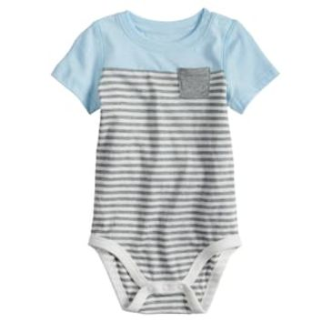 Baby Boy Jumping Beans® Striped Bodysuit | null