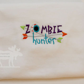 Zombie Hunter Shirt / Zombie Shirt / Zombie Hunter / Baby Shirt / Toddler Shirt / Halloween Shirt / Zombies / Custom Shirt