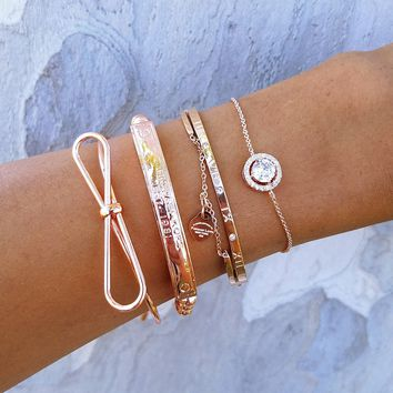 Makala Rose Stack