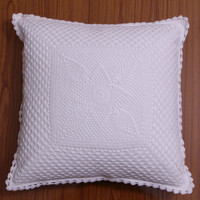 PineEye HANDMADE CROCHET CUSHION Cover- Pillow cover - Bed Decor- Throw Pillow