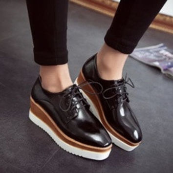 women genuine Leather flats canvas shoes nets espadrilles woman striped denim shoes women platform sneakers [7687540102]