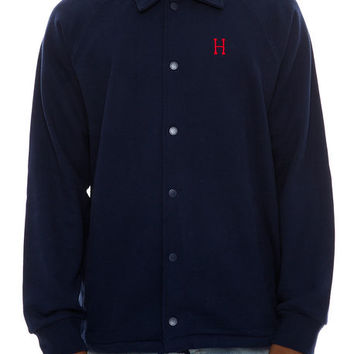 The Classic H Fleece Coaches Jacket in Navy