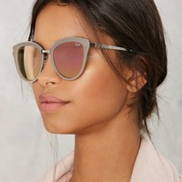 QUAYEvery Little Thing Cat-Eye Shades