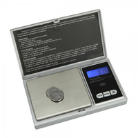500g x 0.1g Pocket Jewelry Gold Weed Digital Scale Silver g - oz - ozt - dwt - ct - tl