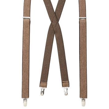 Levi's Heathered Suspenders - Men, Size: One Size (Beige/Khaki)