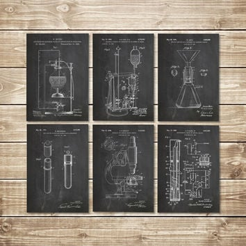 Science Art Posters, Patent Print Group, Chemistry Art Print, Chemistry Poster, Chemistry Decor, Chemistry Wall Decor, Art, INSTANT DOWNLOAD