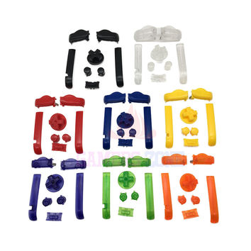 AB Colorful L R Buttons Keypads for Gameboy Advance Buttons Frame for GBA D Pads Power ON OFF Buttons