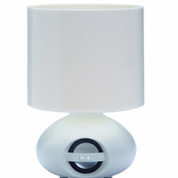 """Stonegate Bluetooth Music 12.5"""" H Table Lamp with Drum Shade"""