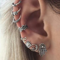 Vintage Bohemia Earrings [11716961615]