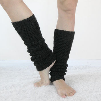 Yoga Leg Warmers | 80s Leg Warmers | Crochet Leggings | Ballet Legwarmers | Pilates Socks | Simple Clothing | Many Colors
