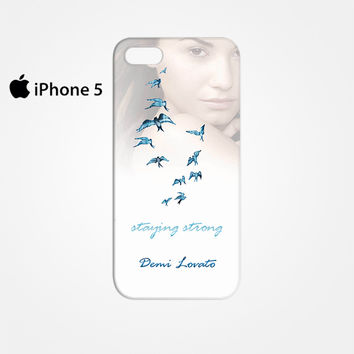 Demi Lovato Staying Strong for Iphone 4/4S Iphone 5/5S/5C Iphone 6/6S/6S Plus/6 Plus 3D Phone case