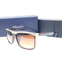 Prada Sunglasses, Gunmetal, 63 mm