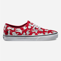 Vans Disney Dalmatians Authentic Womens Shoes Red Combo  In Sizes