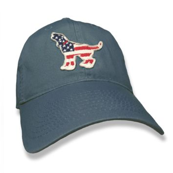 American Hound Hat in Lake Blue by Southern Fried Cotton