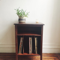 Vintage Record Cabinet / LP Stand / Shelf