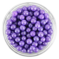 Pearly Purple Sugar Pearls
