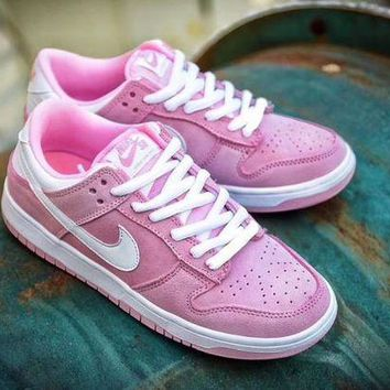 "DCC3W Nike Dunk Low GS ""Prism Pink White�309601-604"