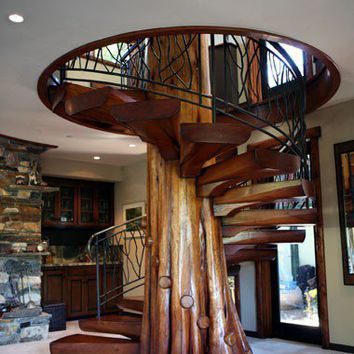Favorite Places and Spaces / Incredible Staircase!