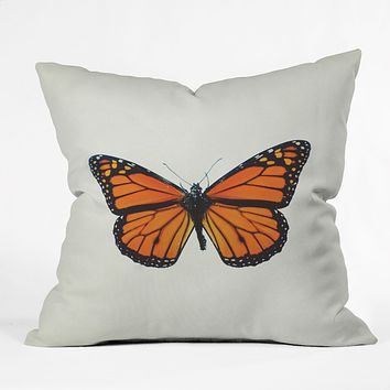 Chelsea Victoria The Queen Butterfly Outdoor Throw Pillow