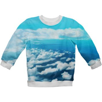 Above the world Kids Sweatshirt