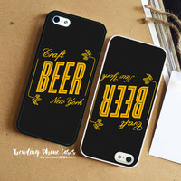 Craft Beer New York iPhone Case Cover for iPhone 6 6 Plus 5s 5 5c 4s 4 Case