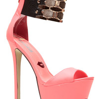 Neon PinkFlaunt It Heels