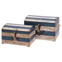 2-Piece Melville Chest Set in Blue